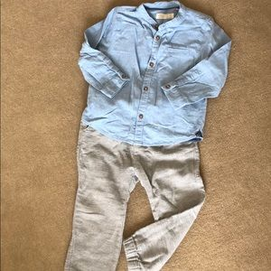 Boys 3/4 years pants and 2/3 top